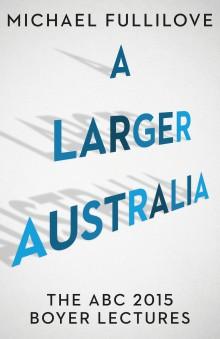 A Larger Australia